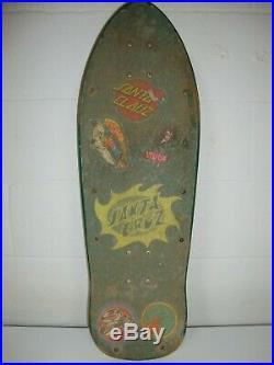 RARE Vintage Santa Cruz Jason Jessee Sungod Sun God Skateboard Pro Series 88