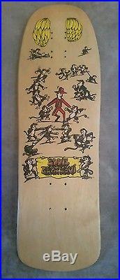 Rare Eddie Reategui ALVA NOS OG skateboard Vintage tony hawk natas Santa Cruz