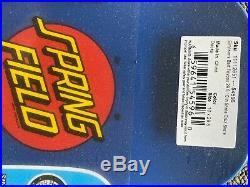 Rare Santa Cruz Bart Simpsons Toybox Skateboard Deck with matching Tech Deck