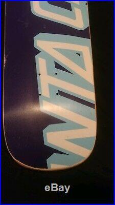 Rare Santa Cruz Eric Dressen Everslick Skateboard Deck