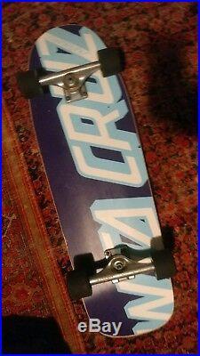 Rare Santa Cruz Eric Dressen Everslick Skateboard Independent Bones Bridgebolt