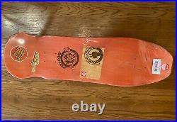 Rare Santa Cruz Rob Roskopp Skateboard Deck Simpsons Homer Face with Bonus
