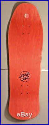 Rare Santa Cruz Ross Goodman skateboard deck! NO RESERVE