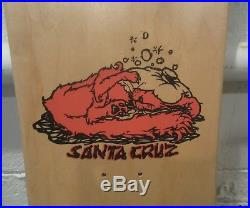 Rare Vintage NOS 1991 Santa Cruz Bod Boyle Sick Cat Skateboard Deck Not Reissue