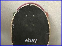 Rare Vintage Original 1984 Santa Cruz Rob Roskopp 2 target Skateboard