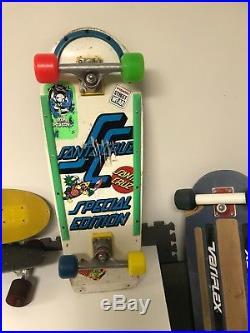 Rare Vintage Santa Cruz Special Edition Rob Roskopp skateboard- Kryptonics Sims