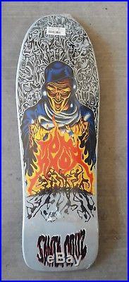 Rare Vtg NOS Tom Knox Fire Pit In SHRINK Santa Cruz skateboard Natas Grosso