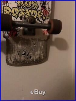 Rob Roskopp 3 Iii Santa Cruz Vintage Skateboard 1980s