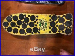 Rob Roskopp 4 Santa Cruz Vintage Skateboard 1980s