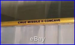 Rob Roskopp//EYE DESIGN//CRUS MISSILE II CONCAVE//SANTA CRUZ SKATEBOARD DECK