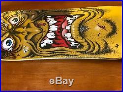 Rob Roskopp Gold Face Vans Exclusive Santa Cruz Skateboard Deck 9.5IN