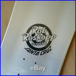 Rob Roskopp Prismatic Face Vans Exclusive Santa Cruz Skateboard Deck