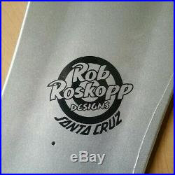 Rob Roskopp Prismatic Face Vans Exclusive Santa Cruz Skateboard Deck 9.5IN
