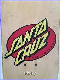 Rob Roskopp Santa Cruz skateboard deck- Very Rare