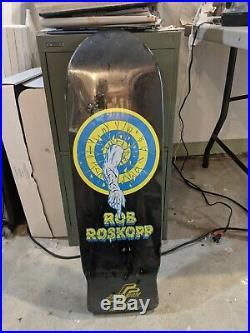 Rob roskopp skateboard deck reissue new in shrink exc santa Cruz