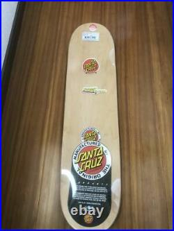 Rockin' Jelly Bean x Santa Cruz Collaboration Erostika of Mondo Skateboard Deck