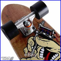 SANTA CRUZ Dressen Tattoo Hand Jammer Cruzer Skateboard Complete 29 OJ Wheels