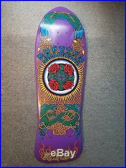 SANTA CRUZ -Eric Dressen Celtic Rose Skateboard Decks (2) OG & 30 year