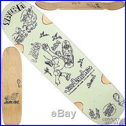 SANTA CRUZ Gonz x Salba Cruz Skateboard Deck 8.75 x 32.5 Mint Green Pool