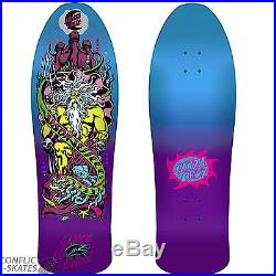 SANTA CRUZ Jason Jessee Neptune Skateboard Deck PURPLE FADE 1988 Old Skool