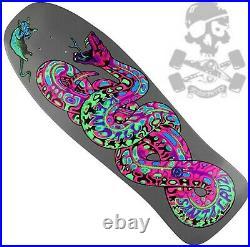 SANTA CRUZ Jeff Kendall Snake Black Light ReIssue Skateboard Deck