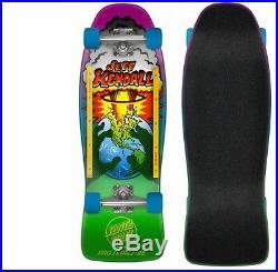SANTA CRUZ Kendall End of the World Skateboard Complete 10 x 29.7 Slimeballs