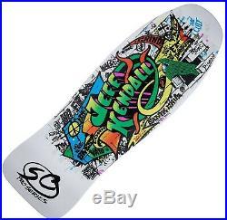 SANTA CRUZ Kendall Graffiti Skateboard Deck 9.69 x 29.85 15 WB WHITE Jeff