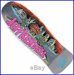 SANTA CRUZ Kendall Pumpkin Skateboard Deck 10 x 30.12 15.25 WB SILVER Pool