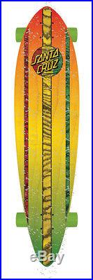 SANTA CRUZ Longboard Complete MAHAKA RASTA FADE 9.58 x 39 Pintail