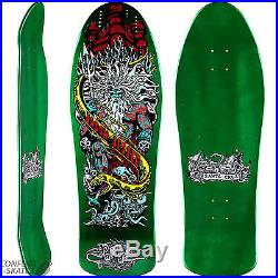 SANTA CRUZ Neptune 2 Jason Jessee Skateboard Deck 10.2 METALLIC GREEN 1980s