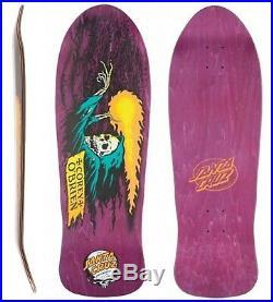 SANTA CRUZ O'Brien Reaper Skateboard Deck 9.85 x 30 1980s PURPLE Corey Pool