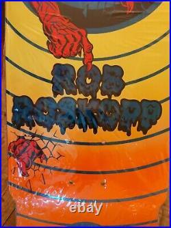 SANTA CRUZ ROB ROSKOPP TARGET II 2 REISSUE DECK 10x31.4 Blue Orange Skateboard
