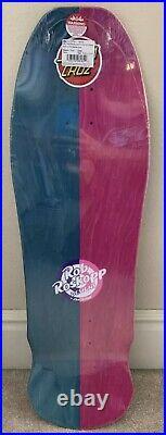 SANTA CRUZ ROB ROSKOPP VANS FACE REISSUE Split Skateboard Deck 9.5 X 31 New