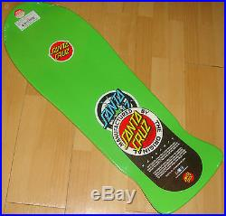 SANTA CRUZ Rob Roskopp Target #4 Skateboard Deck 10.25