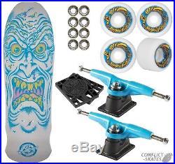 SANTA CRUZ Roskop Face Complete Skateboard 9.5 OJ II wheels GULLWING PRO III