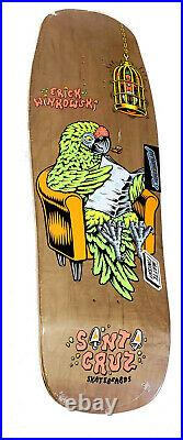 SANTA CRUZ SKATEBOARD PREISSUE DECK ERIC WINKOWSKI Birdcage POWERPLY 10 x 31.6