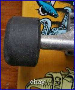 SANTA CRUZ SKATEBOARDS / Neptune 2 Re Issue / Complete setup mint