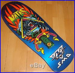 SANTA CRUZ / SMA Natas Panther 3 Skateboard Deck Pearl Blue 10.328