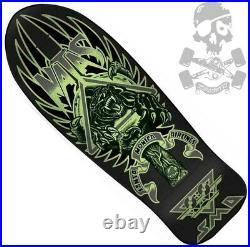 SANTA CRUZ / SMA Natas Panther Skateboard Deck Glow in the dark / Blacklight
