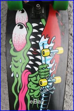 SANTA CRUZ Slasher Skateboard. Keith Meek. ABEC 11 / THUNDER TEAM. Nice
