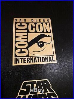 SANTA CRUZ Star Wars BOBA FETT Skateboard Deck MANDALORIAN Comic Con Exclusive