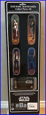 SANTA CRUZ Star Wars HAN SOLO Skateboard Deck BRAND NEW Disney GROSSO Sideshow