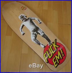 SANTA CRUZ Steve Alba Skateboard Deck Stomper Cry Baby 2016 Re Issue