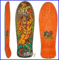 SANTA CRUZ Tiger Salba Skateboard Deck 10.3 x 31.1 Old Skool Reissue Matte