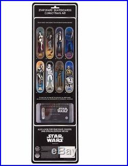 SANTA CRUZ X STAR WARS Chewbacca Skateboard Deck Collectors Edition Blister Pack