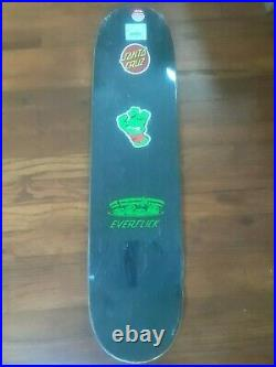 SANTA CRUZ x TMNT Pizza Dude Everslick Skateboard Deck Ninja Turtles New Shrink