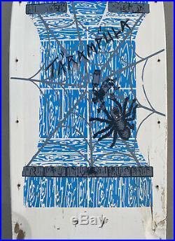 SCHMITT STIX TARAMPULA TEAM DECK SKATEBOARD rare vintage vision santa cruz g&s