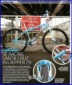 SE Racing SANTA CRUZ BIG RIPPER 29 box. New in box. Skateboard FREE SHIPPING