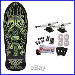 SMA Skateboard Complete Old School Natas Panther 3 Glow in the Dark 10.5 x 30