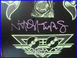 SMA Skateboard Deck Natas Panther 3 Glow in the Dark Signed by Natas Kaupas